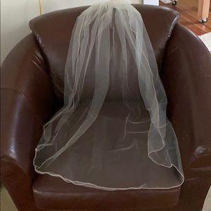 Wedding veil from David's bridal